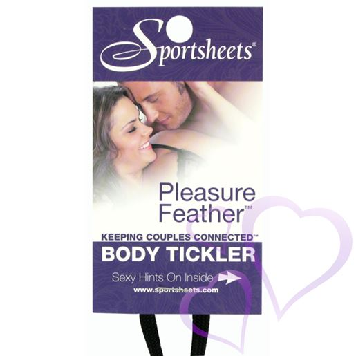 Sportsheets, Pleasure Feather - Punainen / E21040.jpg