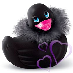 I Rub My Duckie Travel Size Paris Black Vibroiva Ankka / E23261.jpg