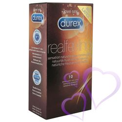 Durex, Real Feeling – Kondomit, 10kpl / E24857_1.jpg