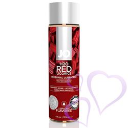 System JO - H2O Lubricant, Red Licorice, 120 ml