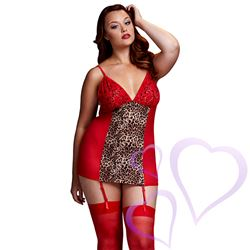 Baci – Red Leopard Basque & Garter Stays No Panty, Queen Size / E27071.jpg
