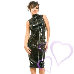 Sleeveless Mistress PVC Top / HNR-H2002.BLK8.jpg